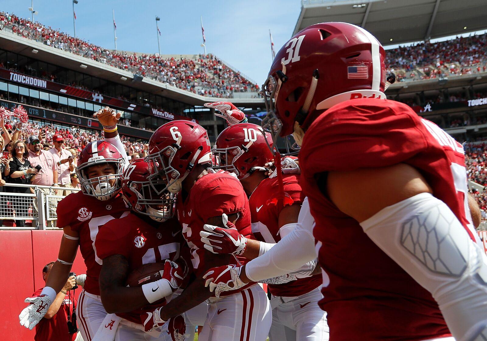 Alabama Football: The top eight CFB teams after week five