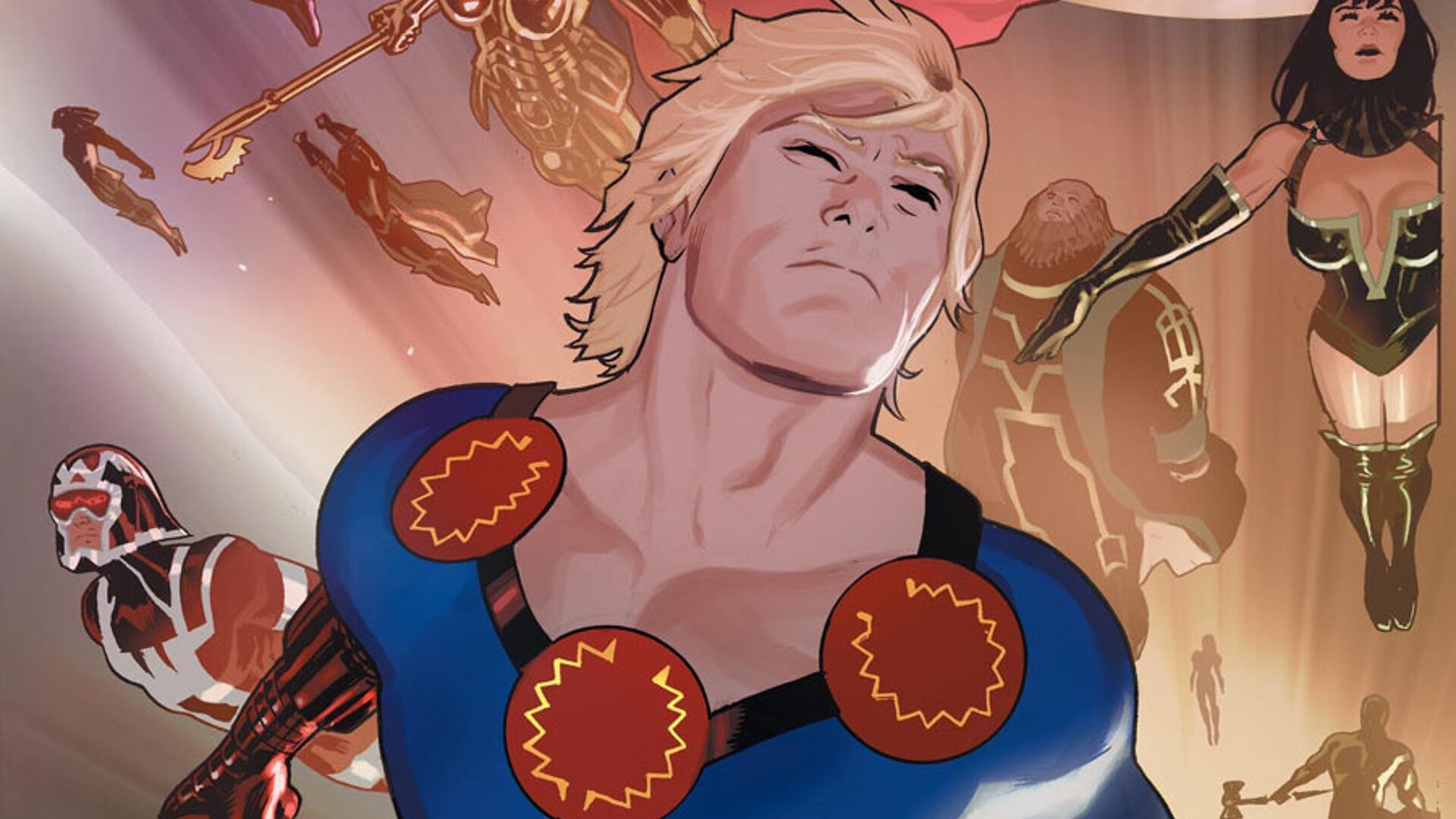 Concept art for Marvel's The Eternals has been officially revealed