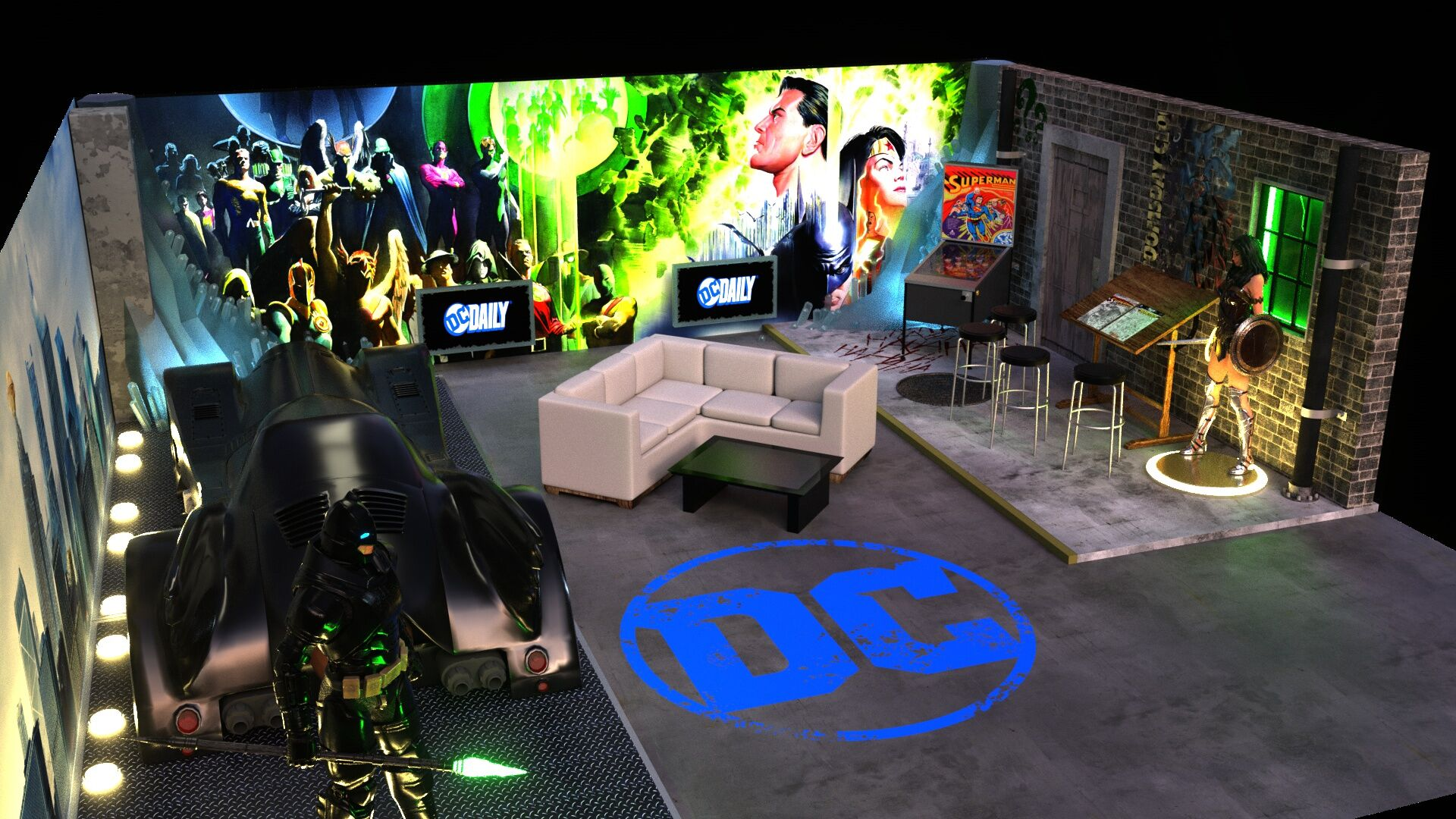 WarnerMedia will not have an effect on DC Universe for now