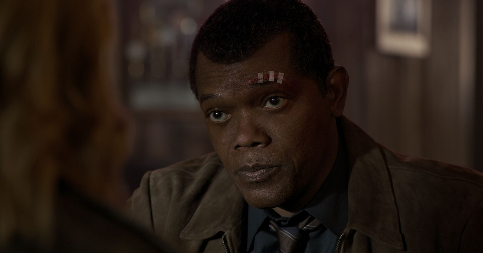 Captain Marvel: Nick Fury almost lost his eye in a different way