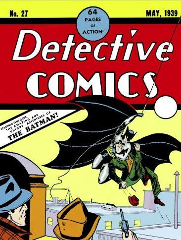 Detective Comics No. 27: The one that started it all