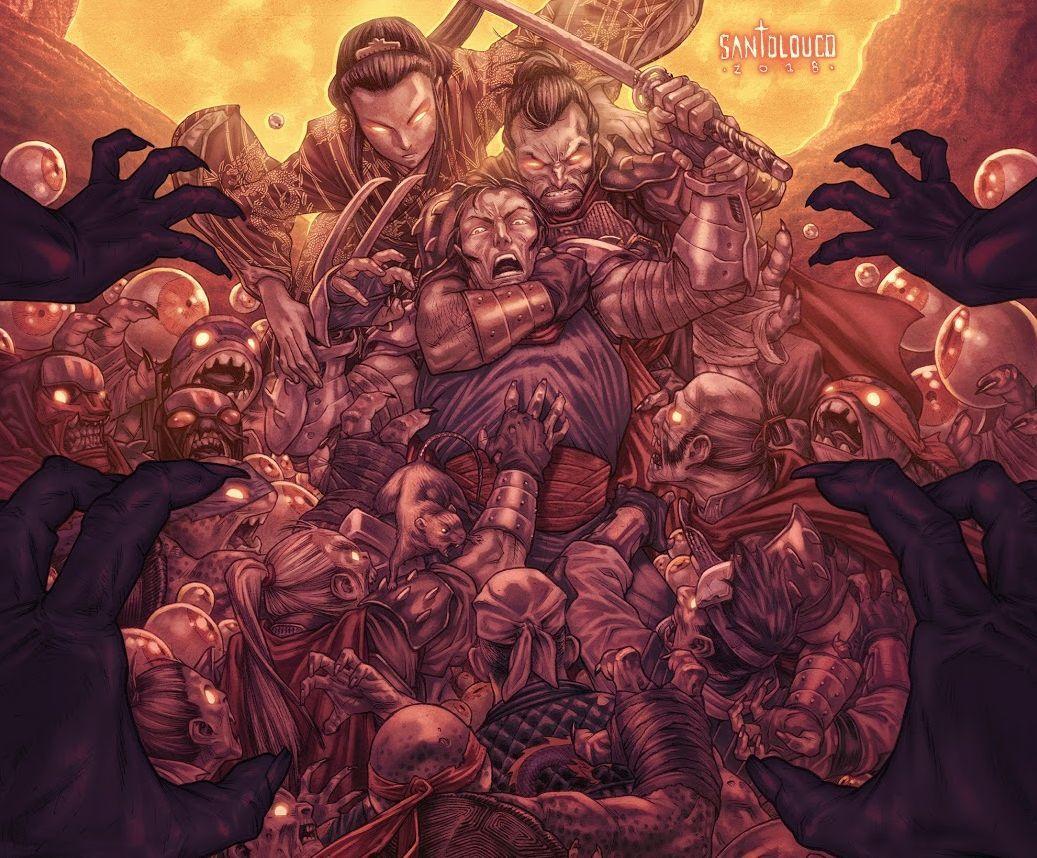 TMNT: Shredder in Hell No. 2 review: Saki versus Zombie Turtles