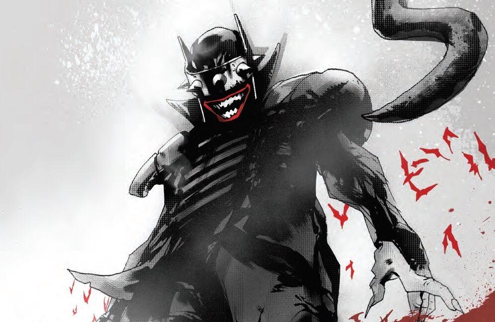 Batman dooms Gotham City in The Batman Who Laughs No. 5