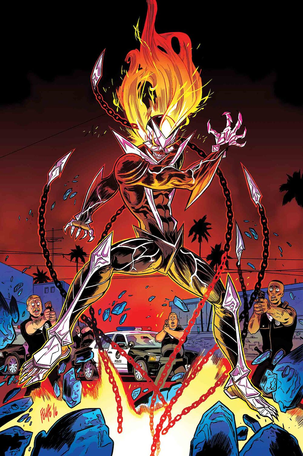 ghost rider: marvel comics cancels series with fifth issue
