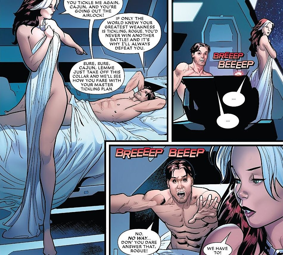 Image result for naked rogue marvel comics post