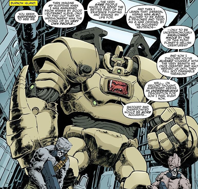Teenage Mutant Ninja Turtles No  87 review: Ch'Rell and