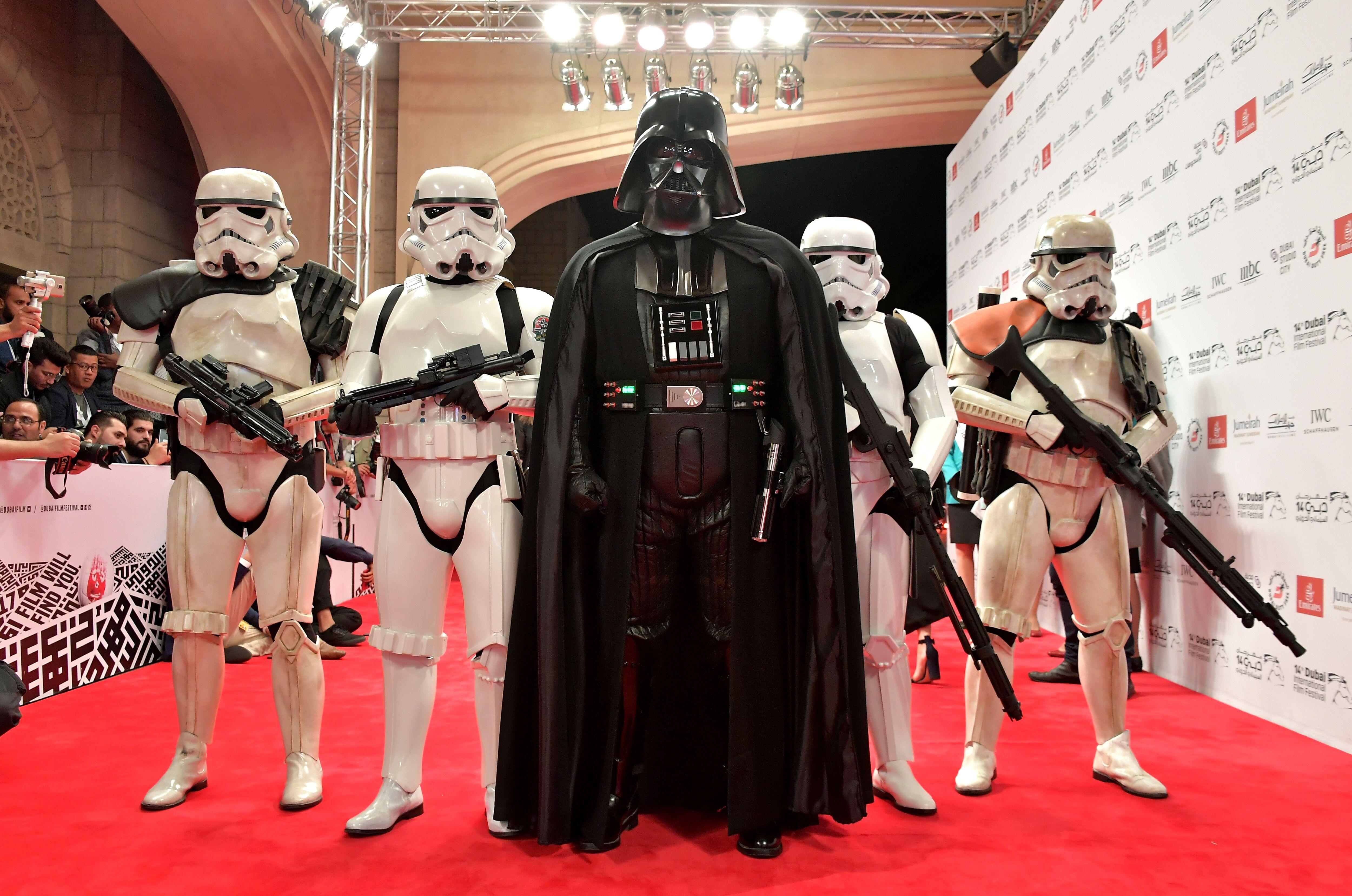Is Darth Vader in Star Wars: The Last Jedi?