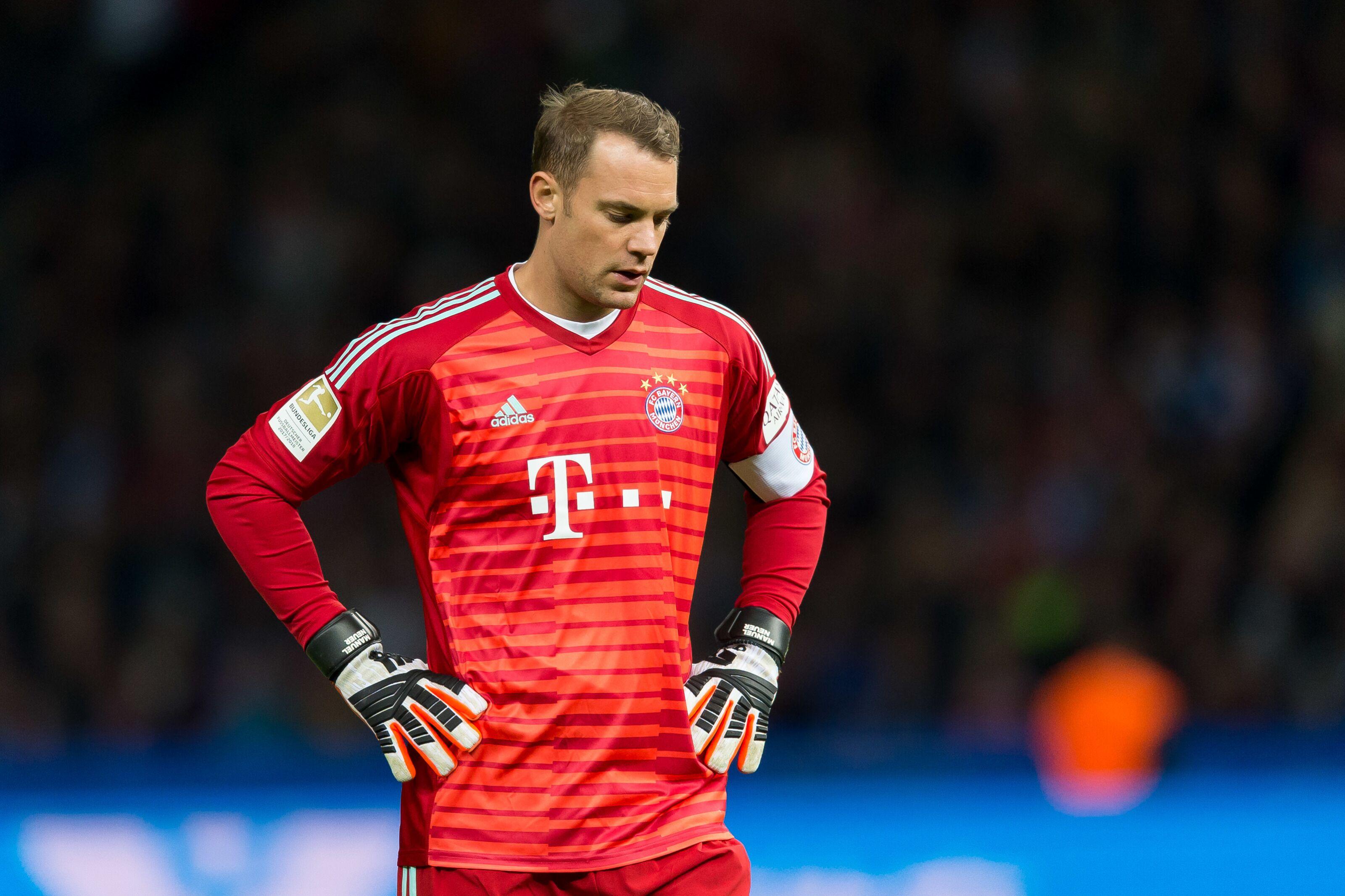 cheap for discount 74b47 027b8 Niko Kovac, Manuel Neuer blame poor finishing for Bayern ...