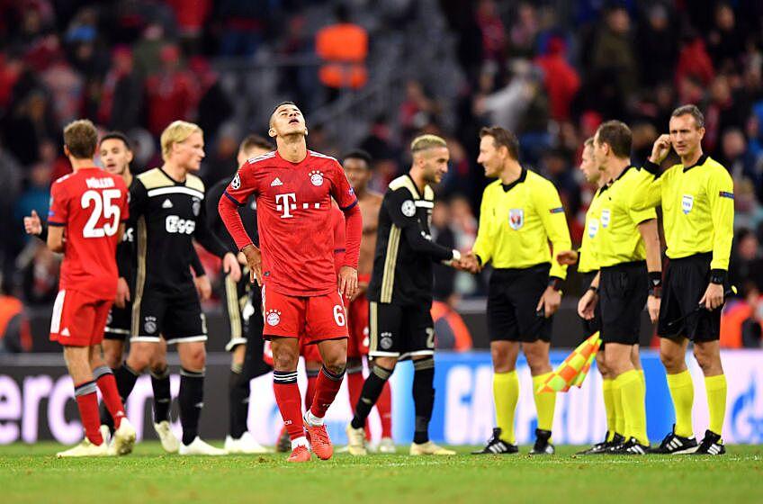 Image result for Bayern Munich 1-1 ajax