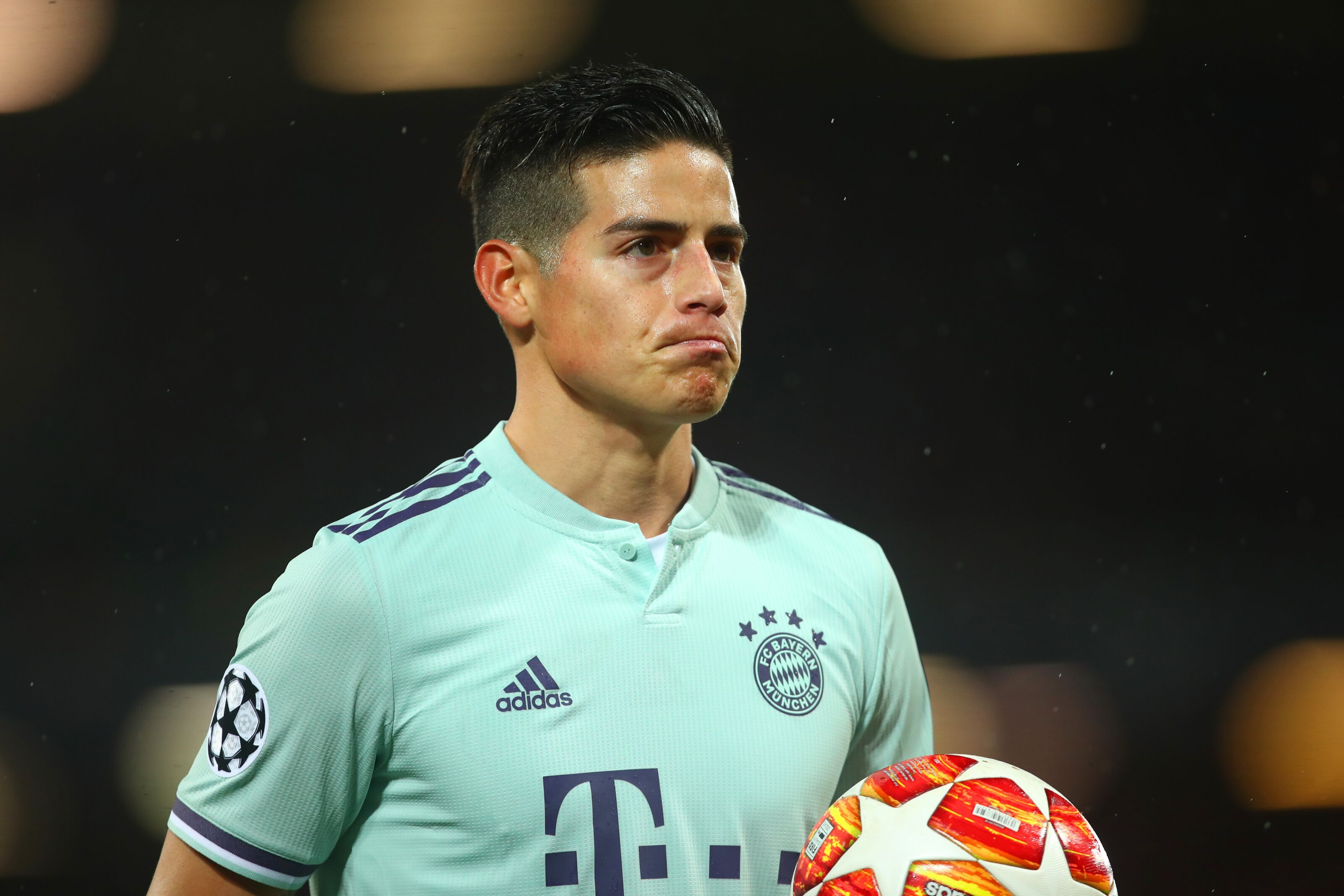 7fbb04c05ce Bayern Munich  James Rodriguez hints at desire to return to Real Madrid