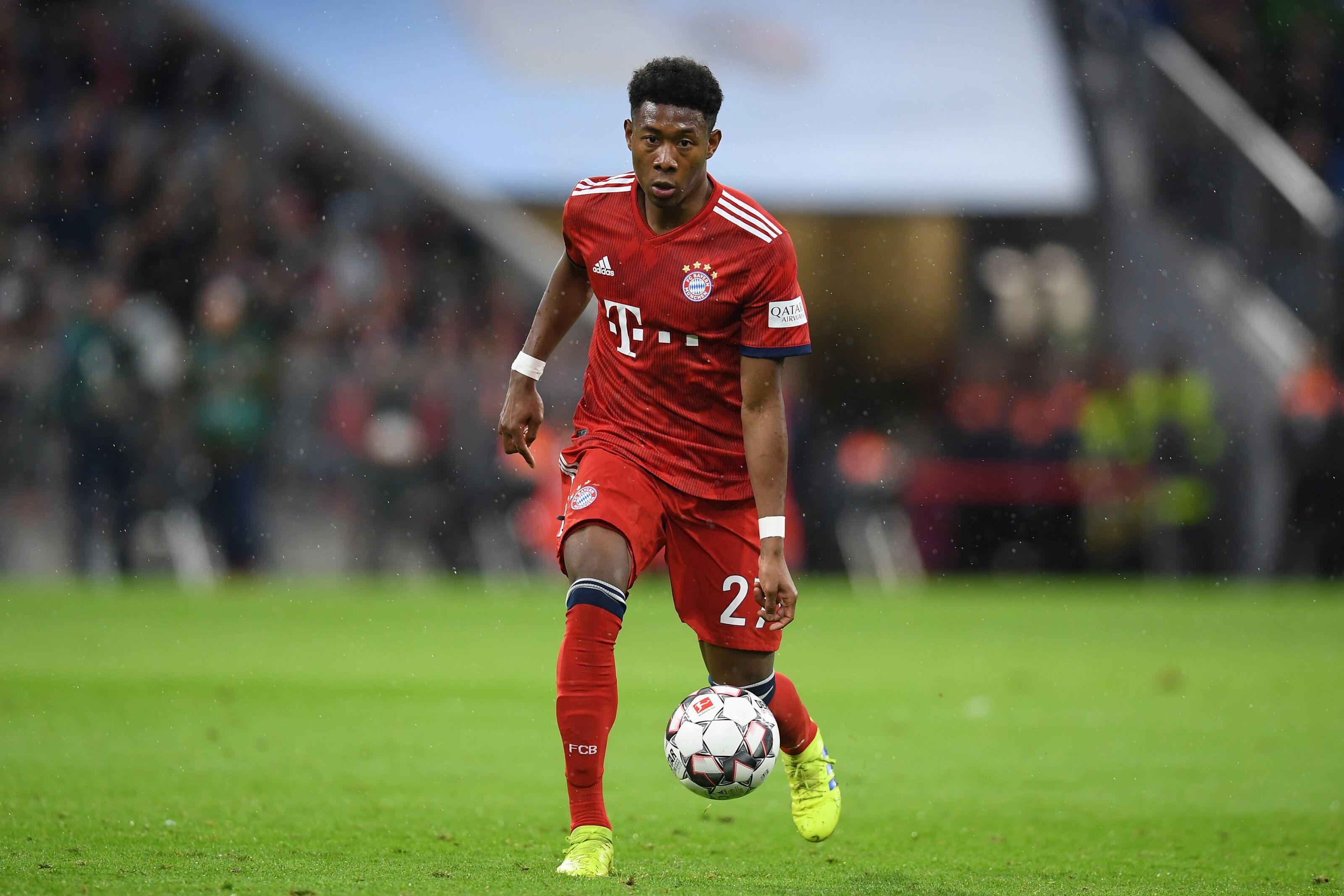 David Alaba admits he could leave Bayern Munich in the future