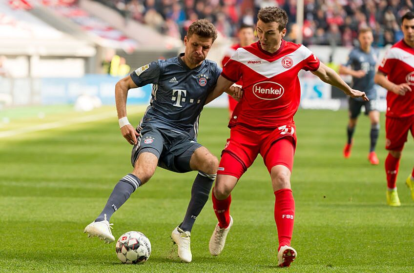 Bayern Munich resume Bundesliga action against Fortuna Dusseldorf