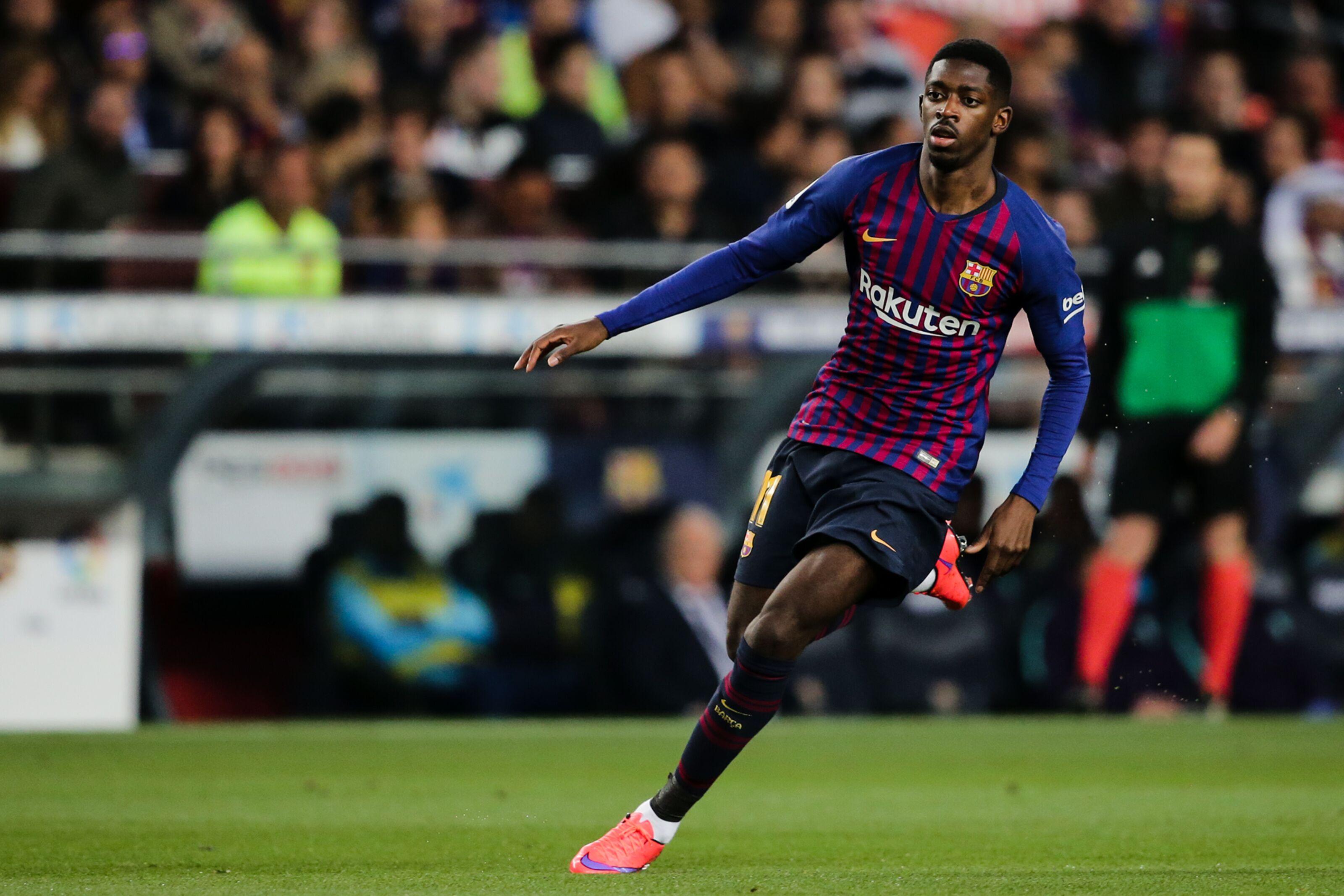 Report: Bayern Munich see Ousmane Dembele as alternative to Leroy Sane