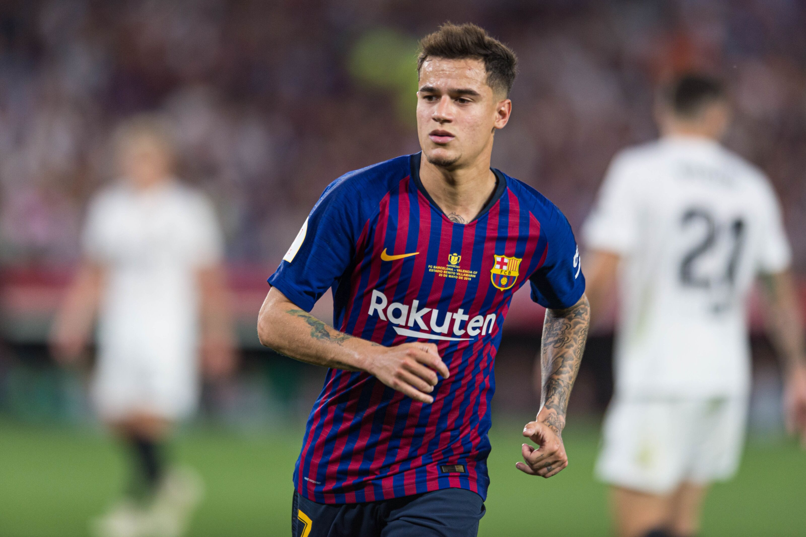 Bayern Munich heavily linked with Barcelona forward Philippe Coutinho