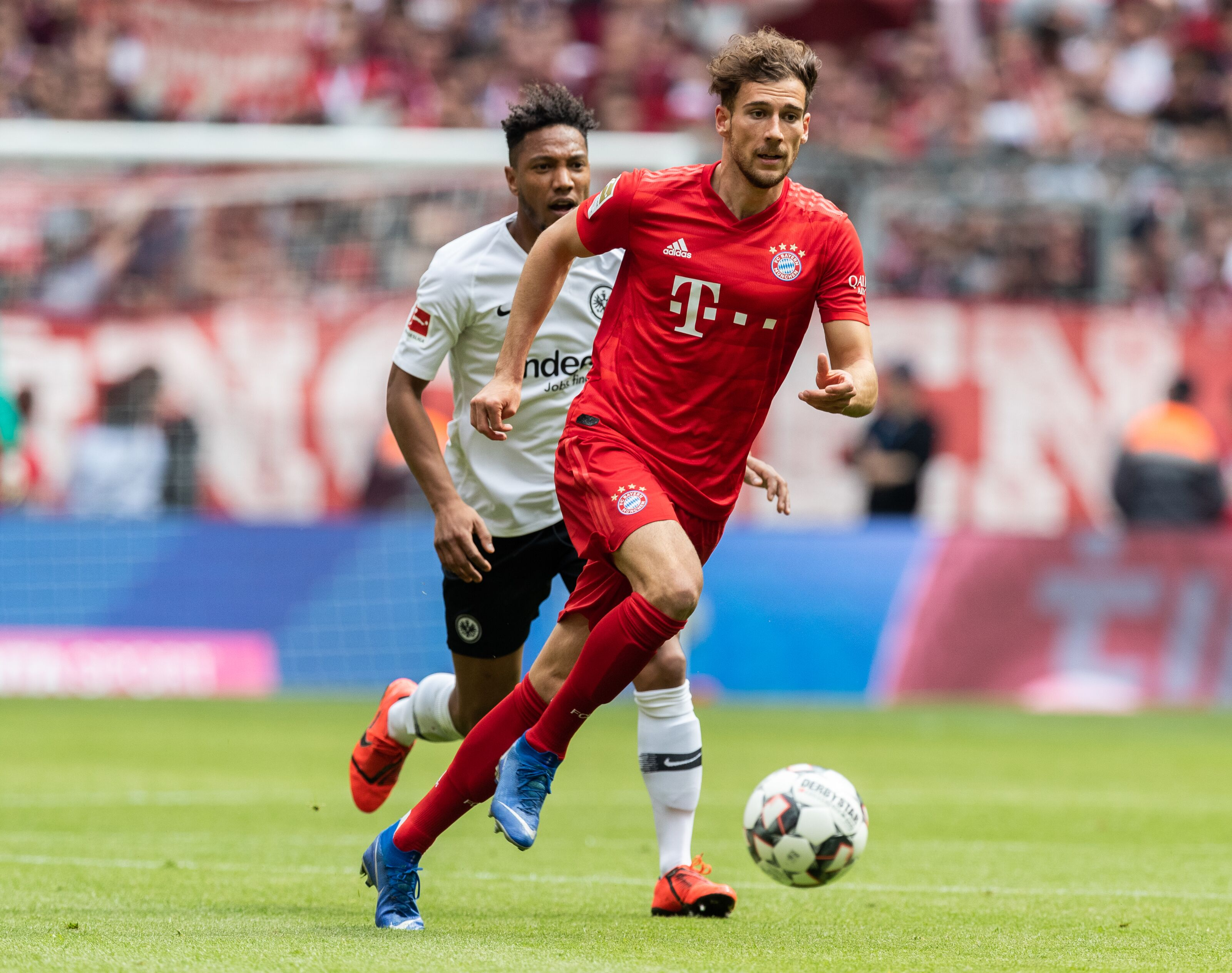 Leon Goretzka is pleased with his debut season at Bayern Munich