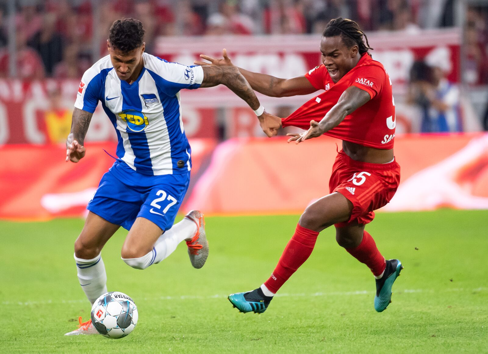 Renato Sanches frustrated with less game-time at Bayern Munich