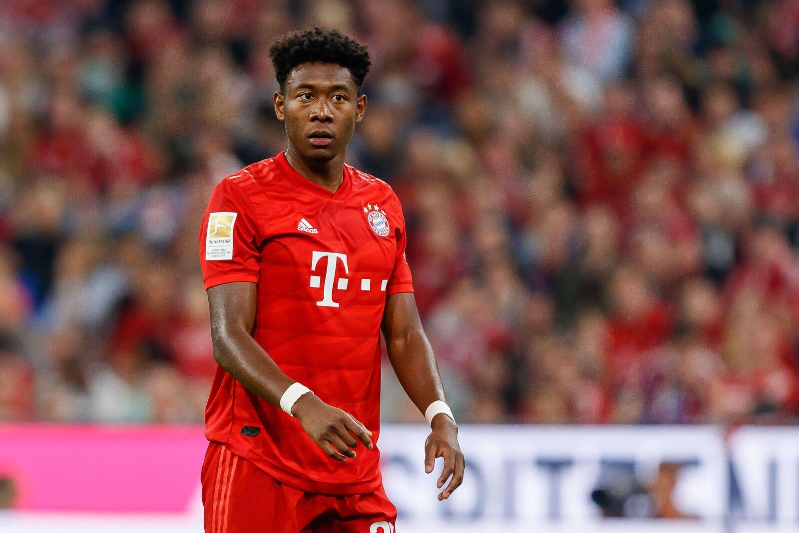 David Alaba casts doubts over his long term future at Bayern Munich