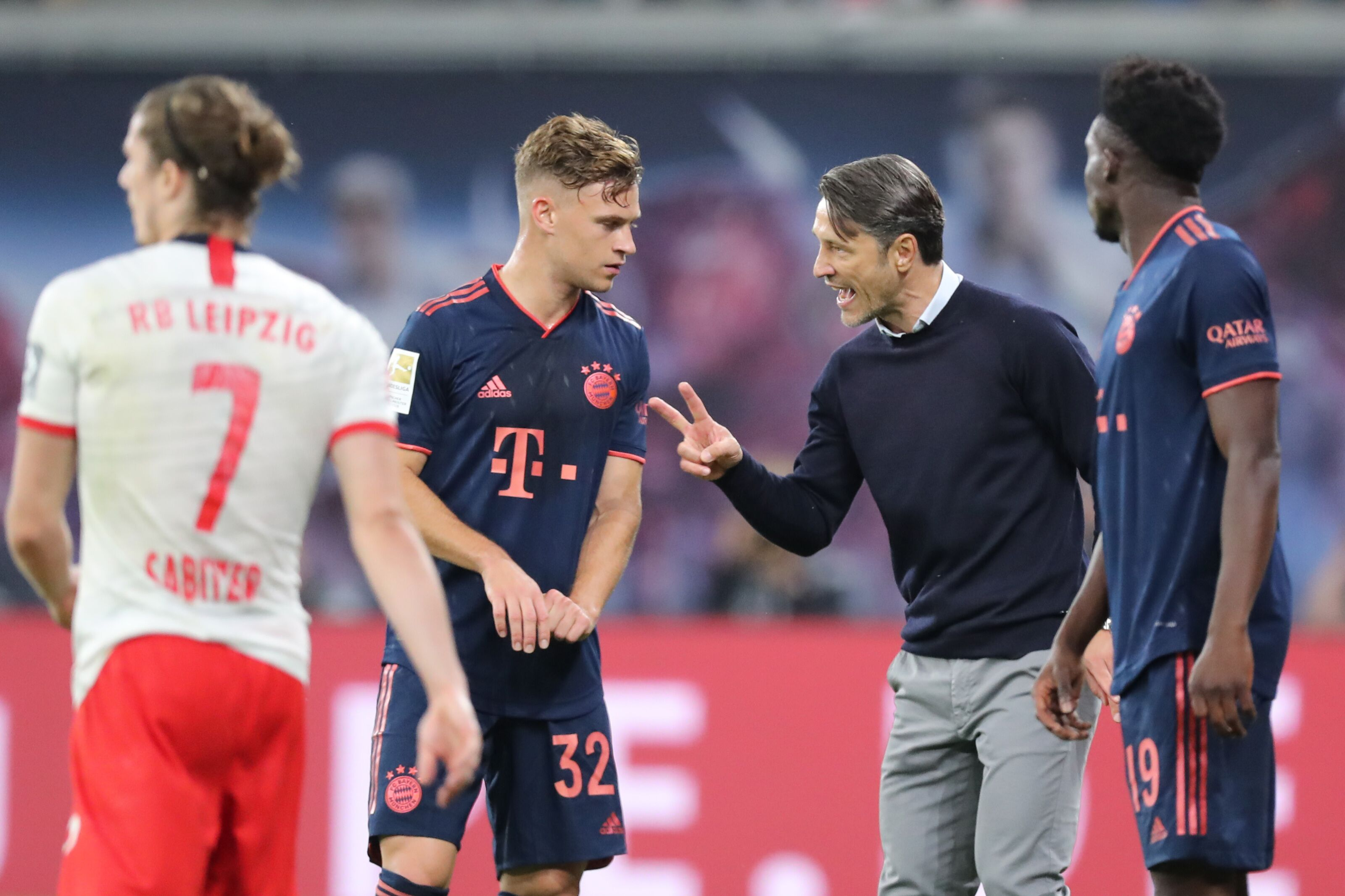 Bayern Munich manager Niko Kovac pleased with Joshua Kimmich