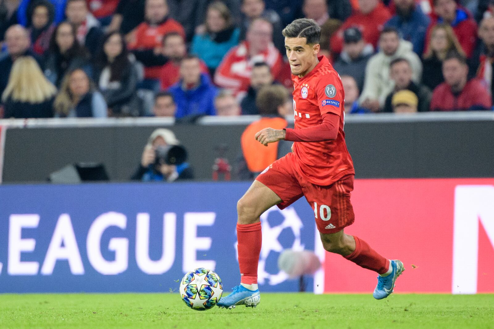 Niko Kovac satisfied with Philippe Coutinho's CL debut for Bayern Munich