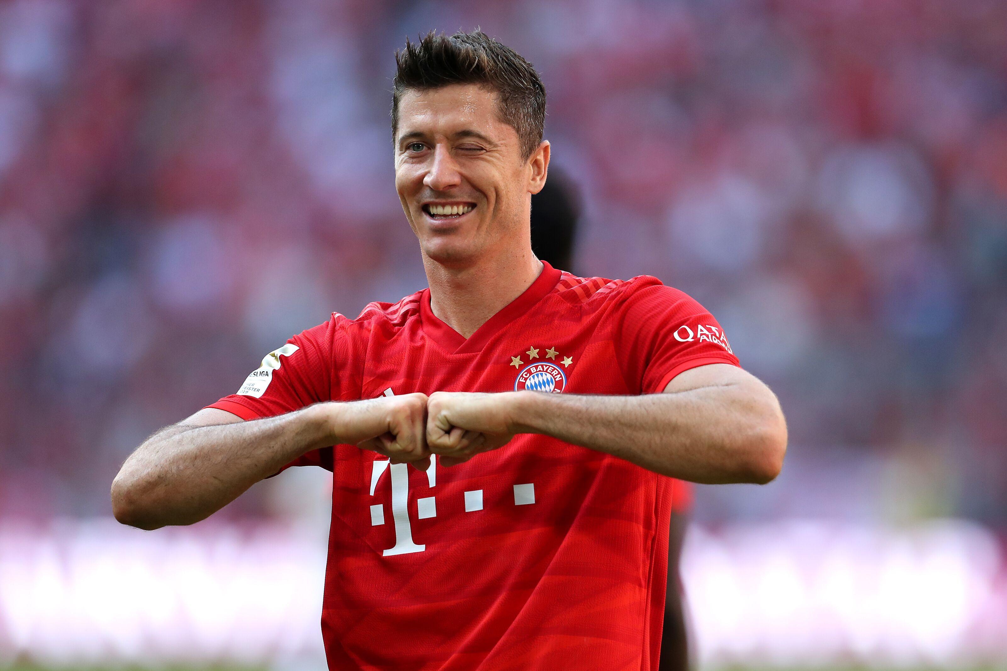 Real Madrid failed to sign Robert Lewandowski from Bayern Munich