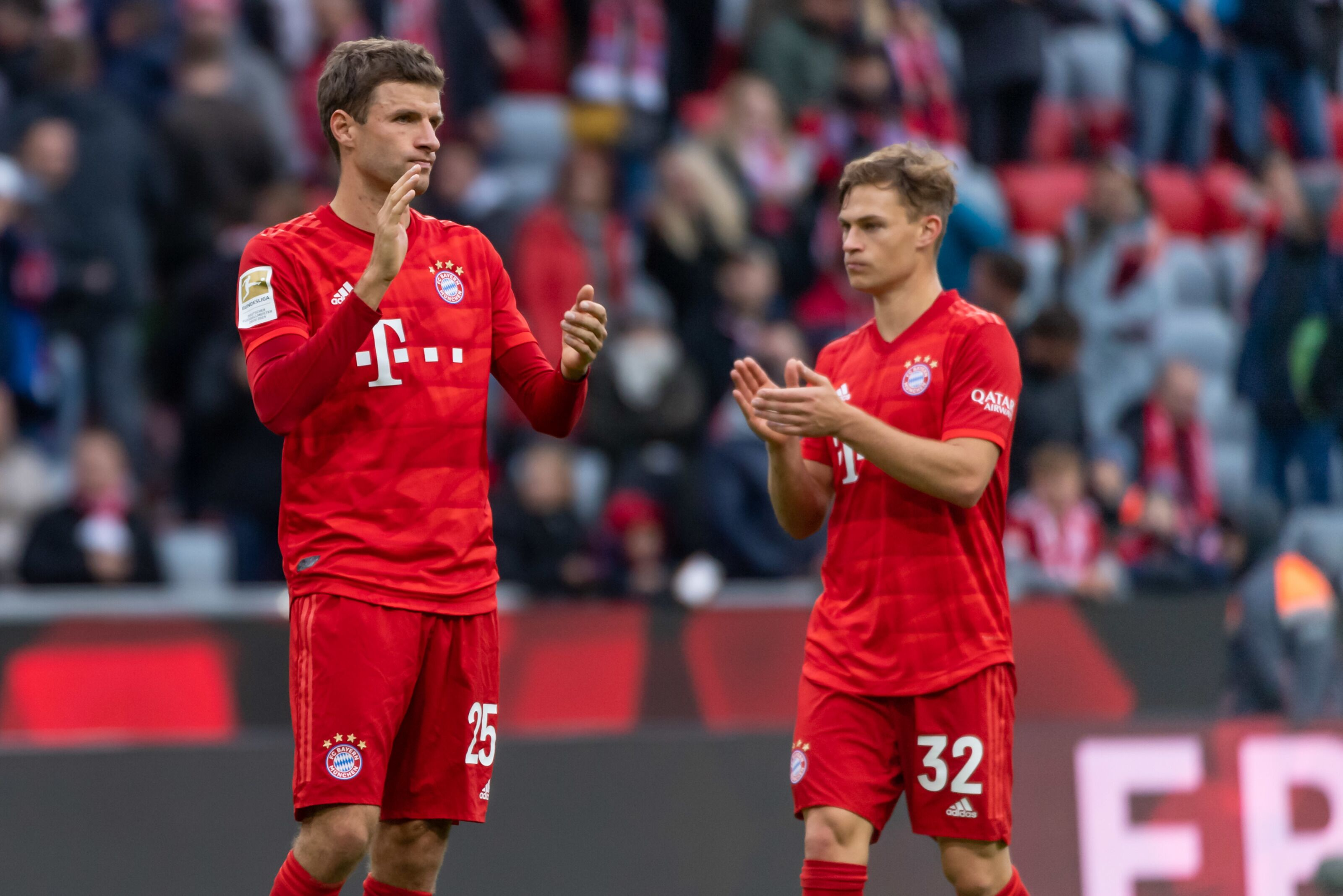 Bayern Munich without Thomas Muller is unimaginable, says Joshua Kimmich