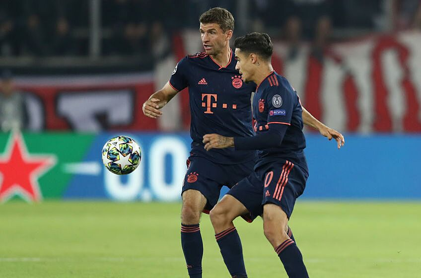 Bayern München Vs Olympiakos