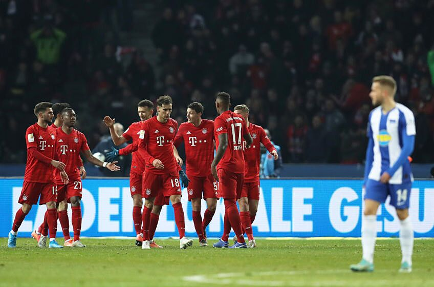 Bayern Munich cruise to victory against Hertha Berlin- Player Ratings