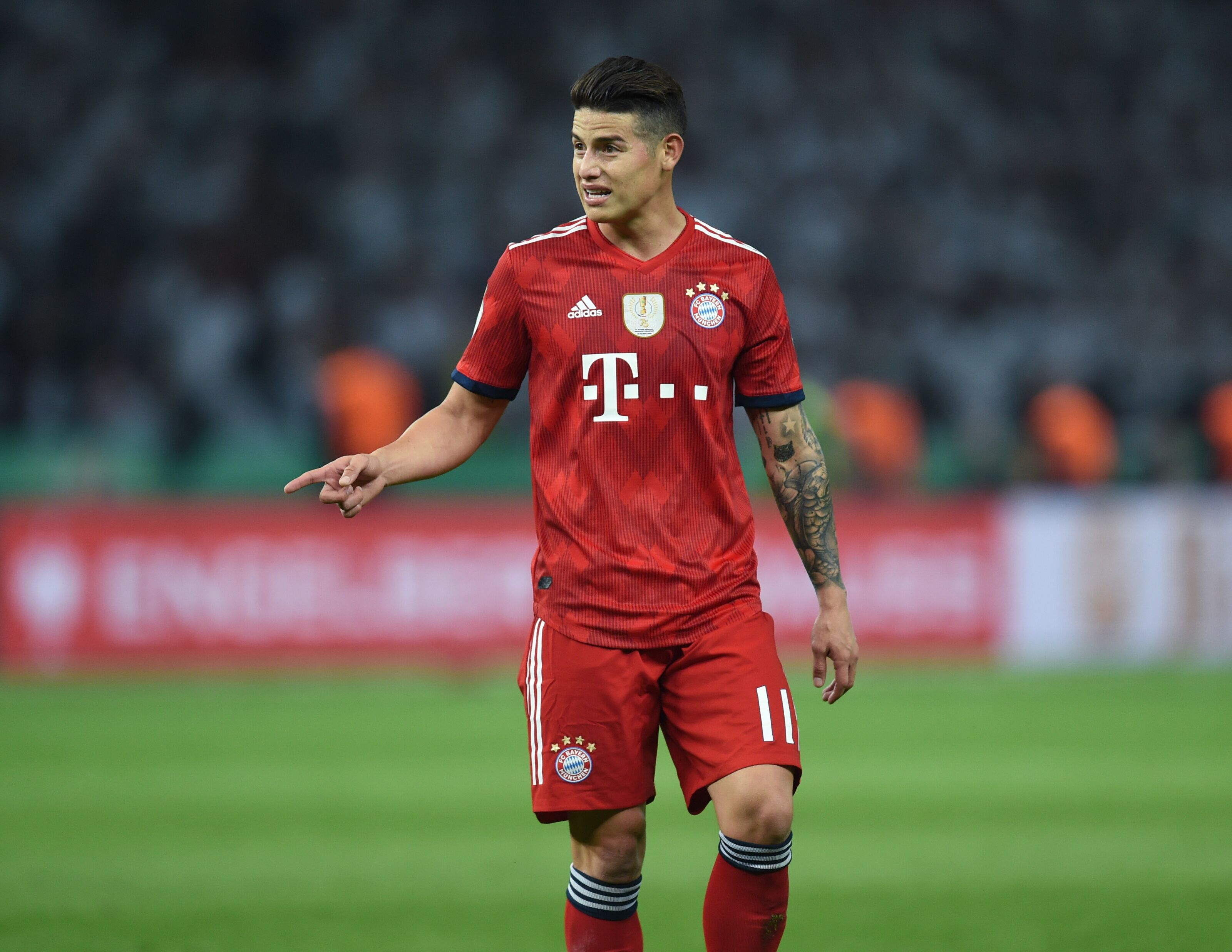 b43129f8ac5 James Rodriguez will not leave Bayern Munich for Real Madrid this summer