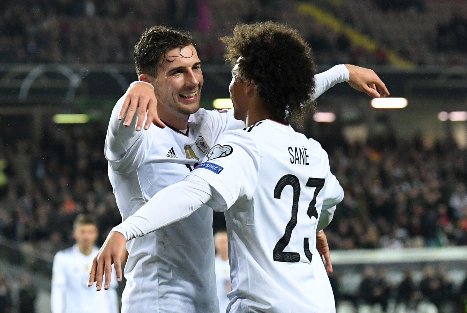 Leroy Goretzka wants Leroy Sane to join him at Bayern Munich