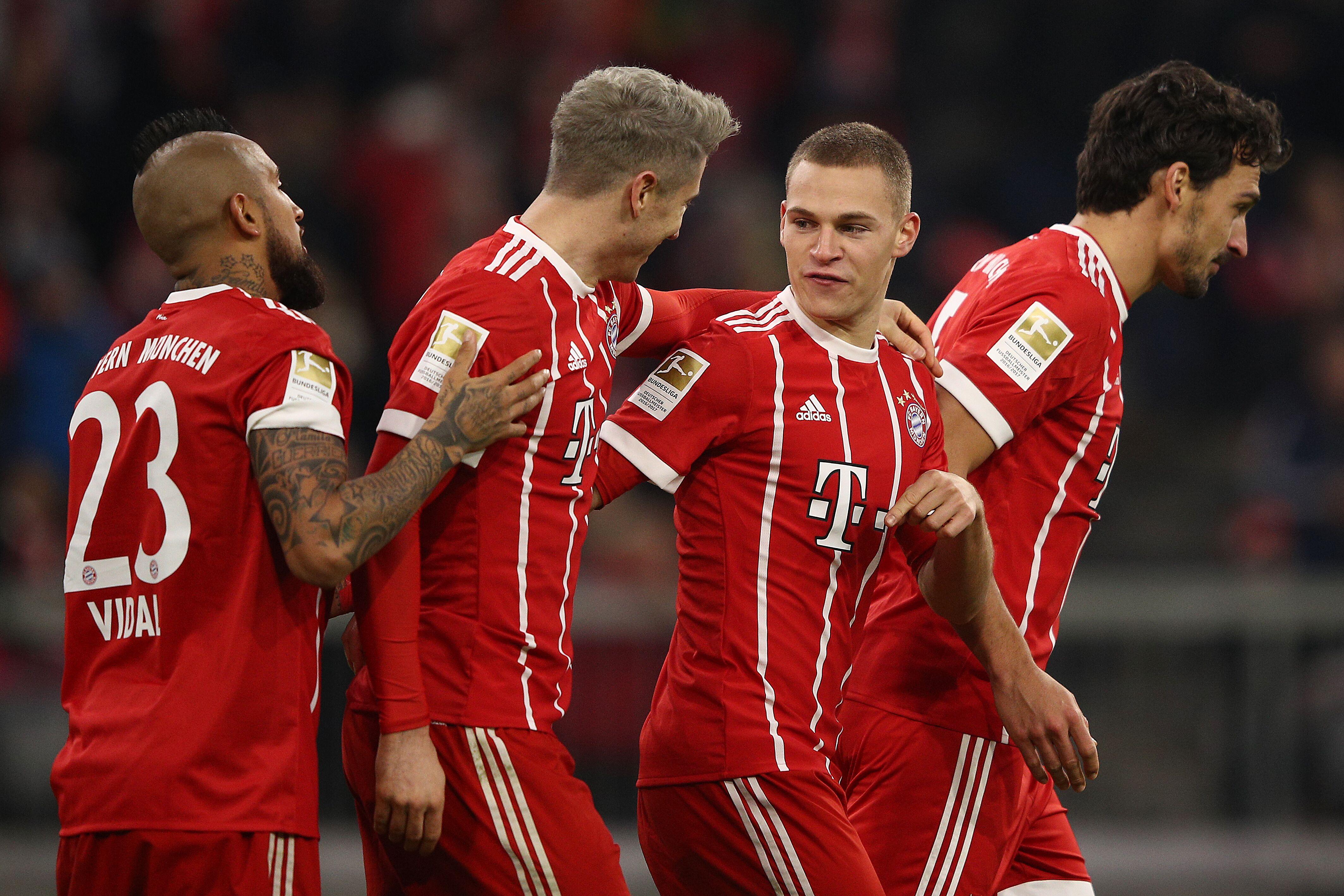 Three Bayern Munich players make UEFA team of the year shortlist