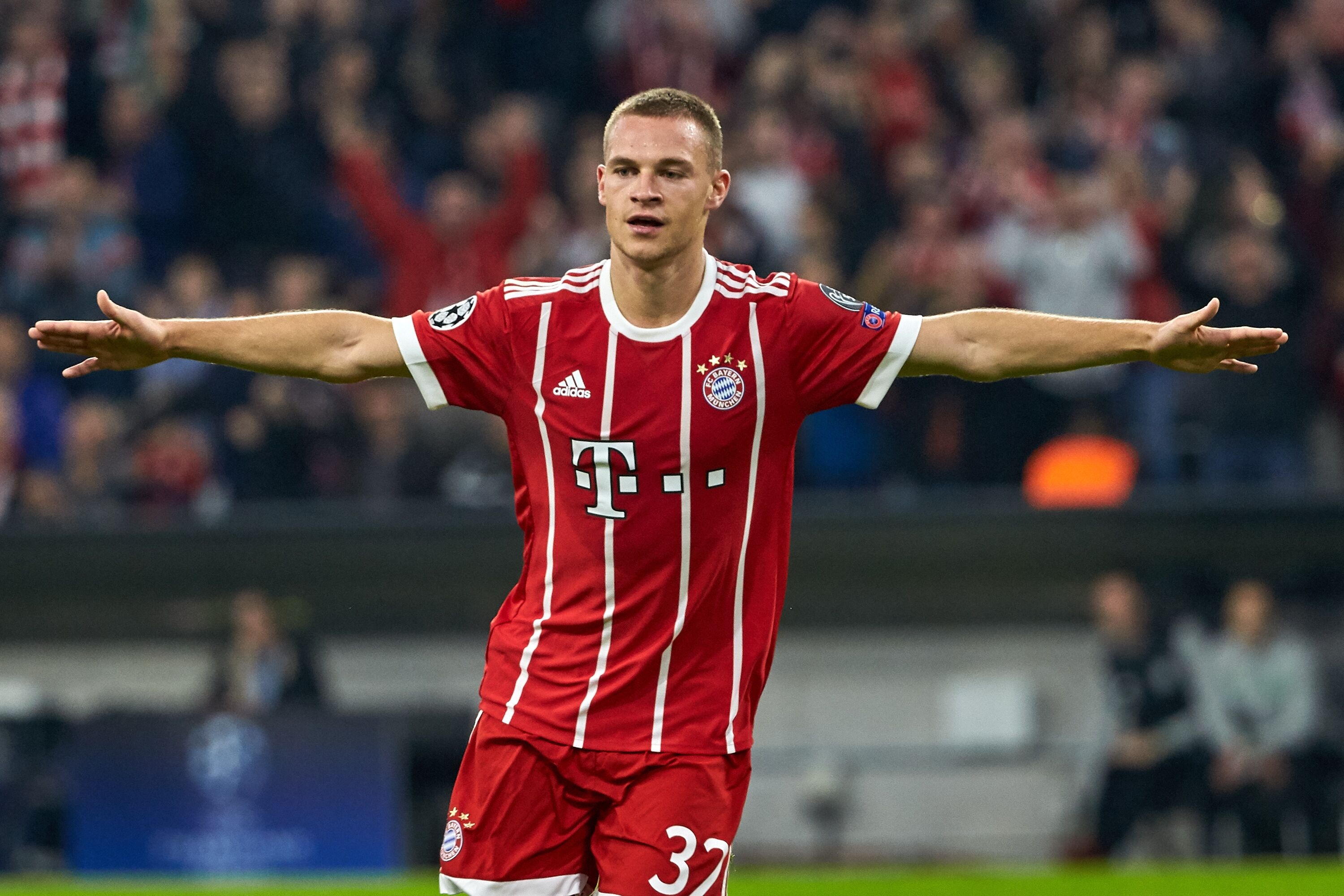 check out 8624f 9dfcf Bayern Munich: Joshua Kimmich voted 2017 Germany player of ...