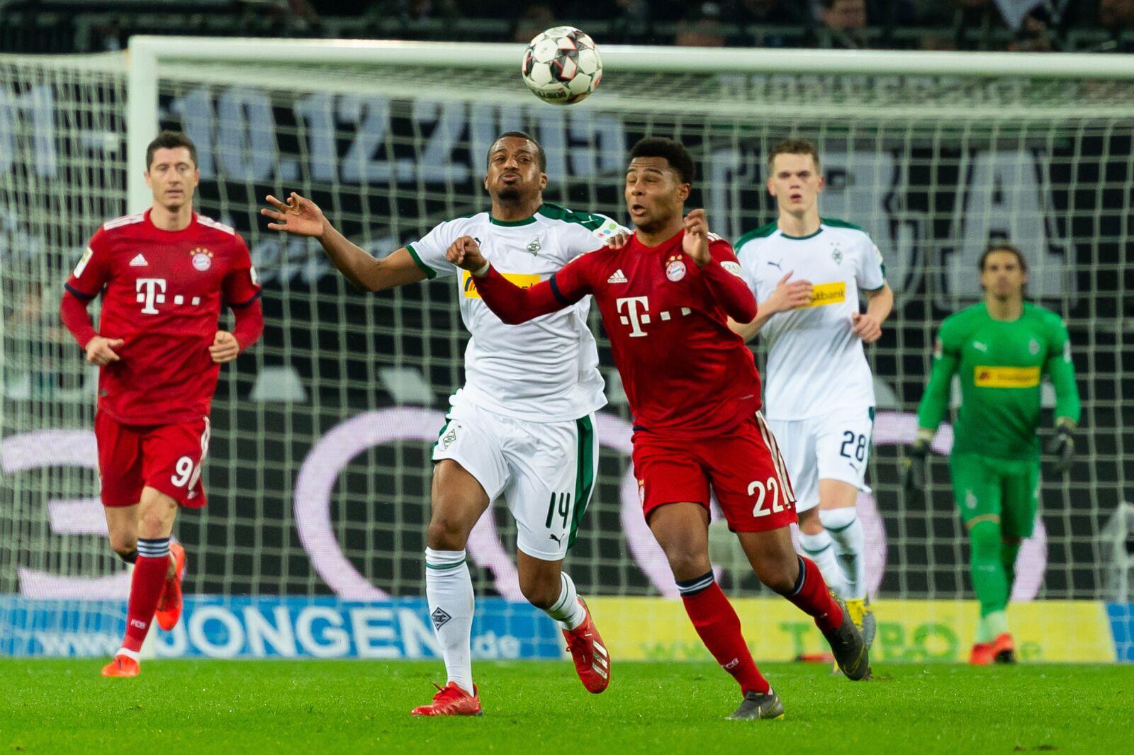 Fc Bayern Vs Mönchengladbach