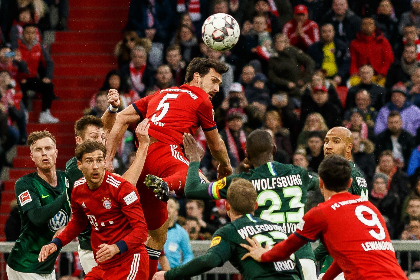 Bayern Munich Vs Vfl Wolfsburg