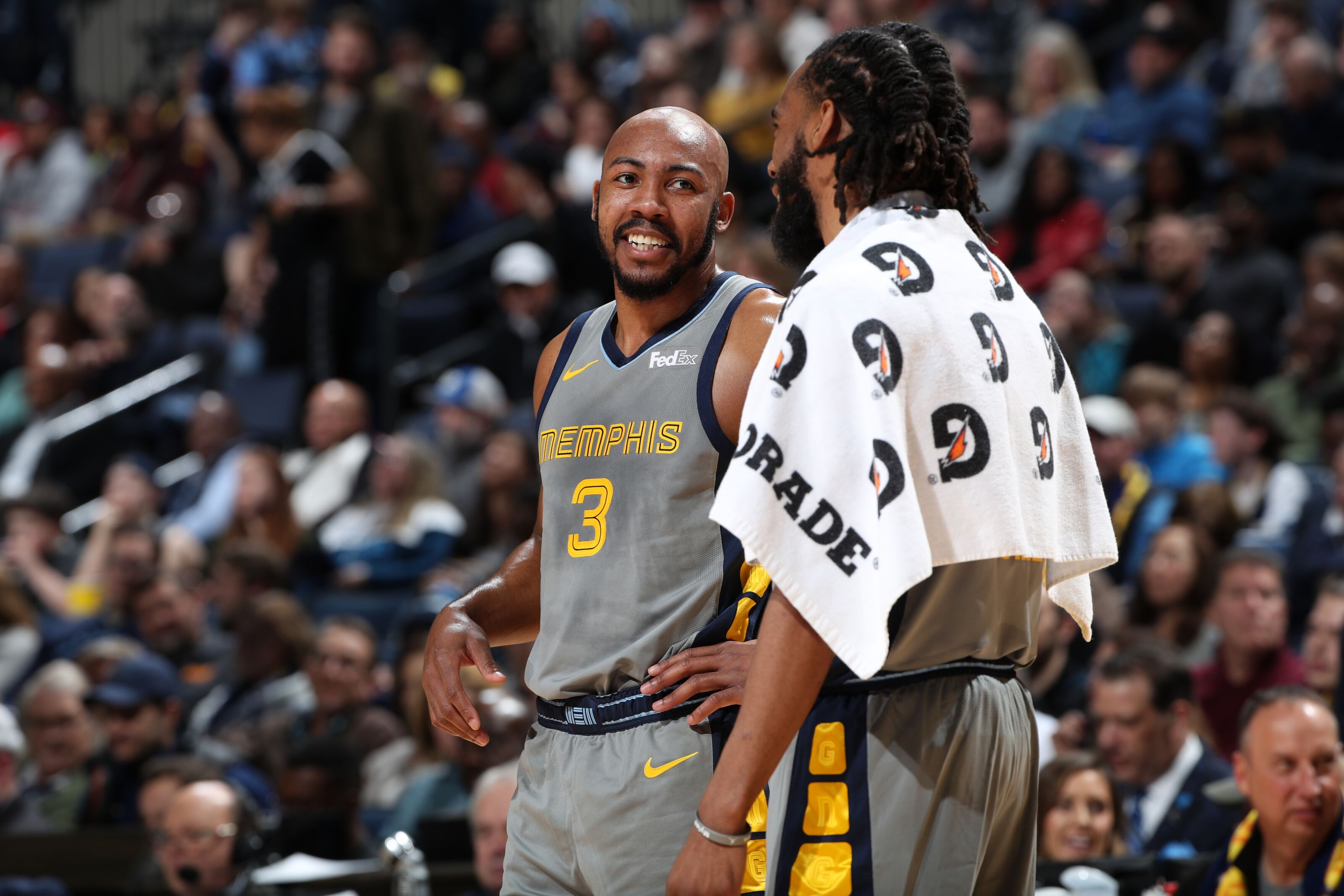 b6a6b9ca6b3 Memphis Grizzlies  Jevon Carter Gives Back to West Virginia During NBA  All-Star Break