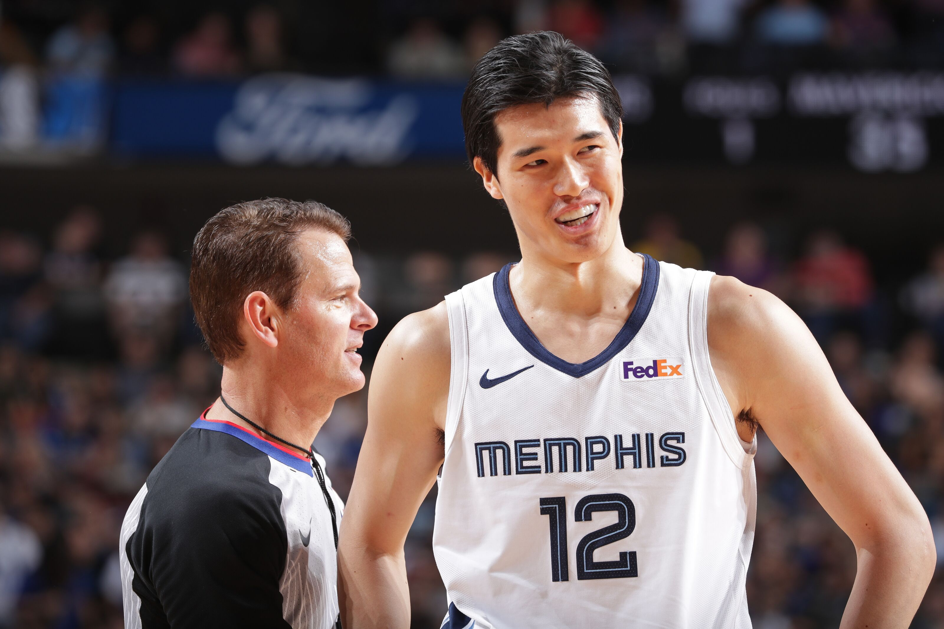 buy online 0f636 52445 Yuta Watanabe Provided Surprising Spike in Memphis Grizzlies ...