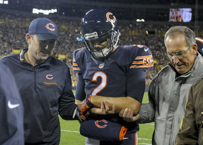 ead4d0032d7 Chicago Bears: Brian Hoyer Set to be Out Eight Weeks