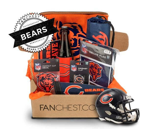 A Chicago Bears Fanchest Is The Perfect Holiday Gift