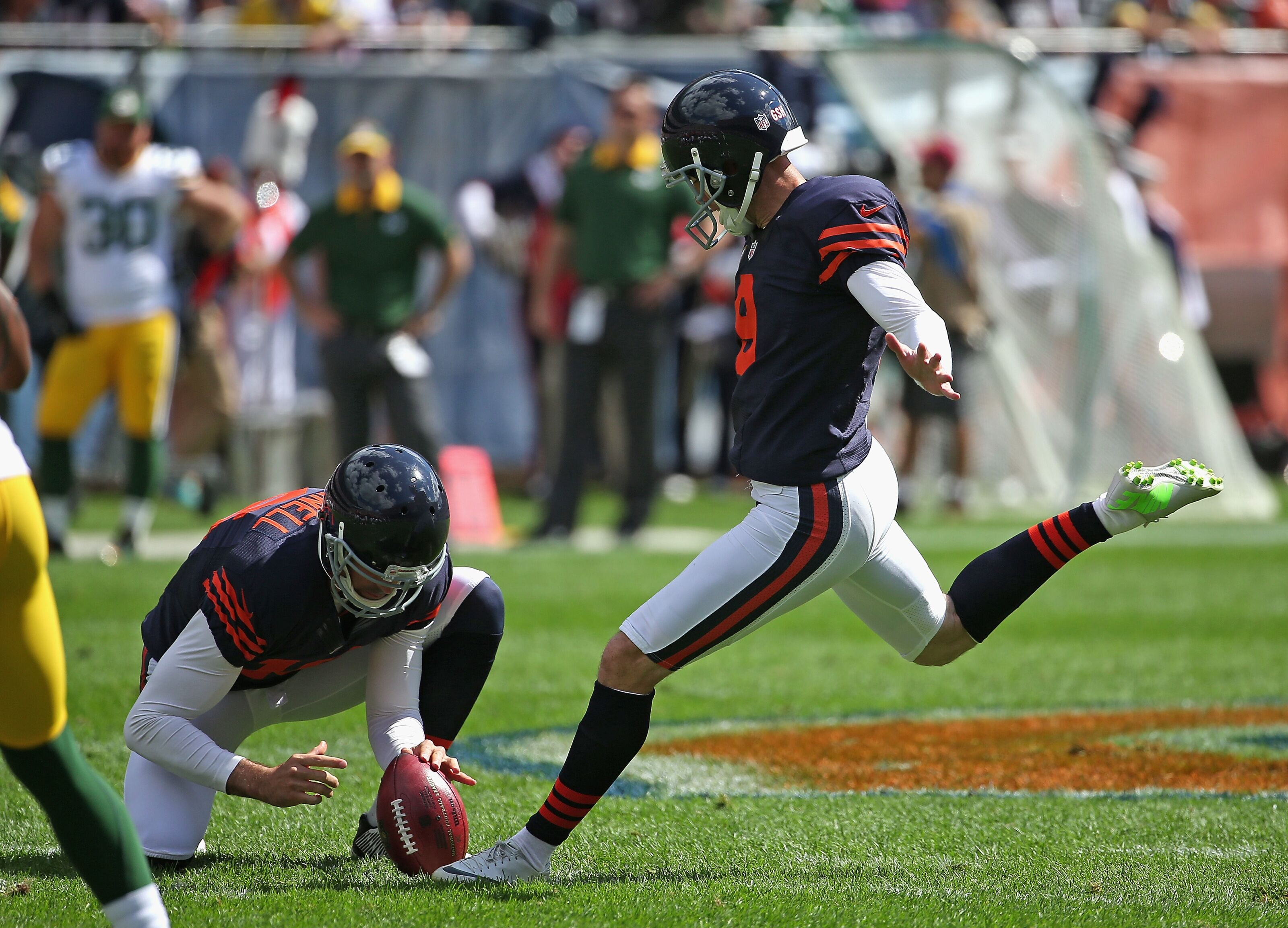 Chicago Bears: Robbie Gould officially out of plans