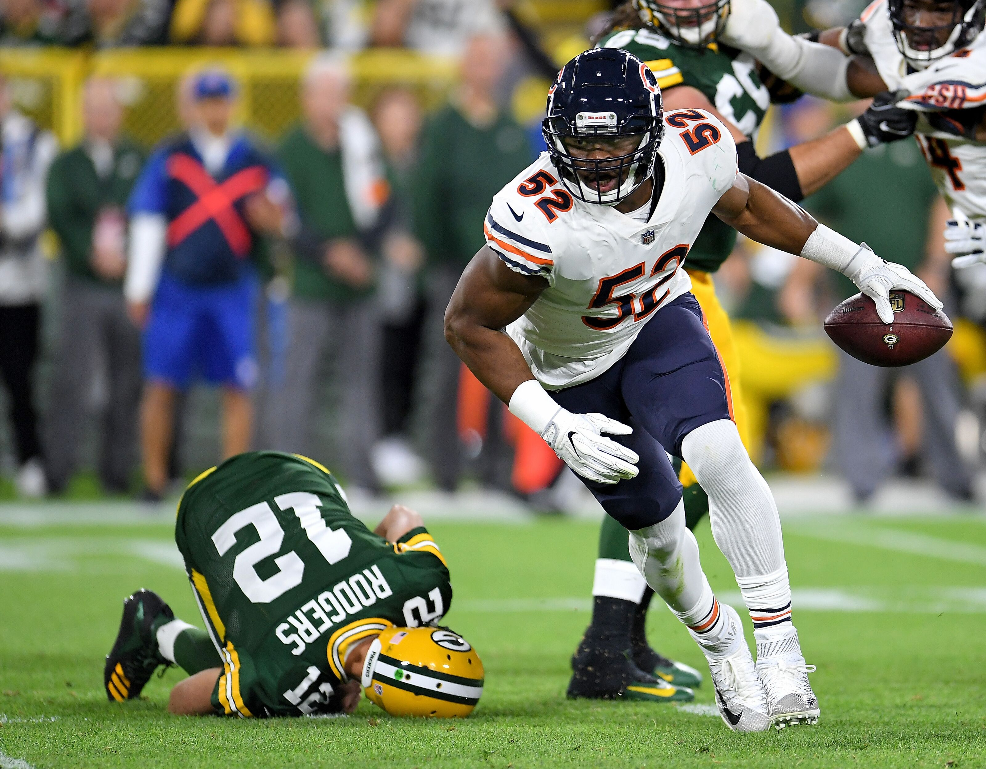 Chicago Bears Week Two  Khalil Mack can repeat prime time show c5b4219ab
