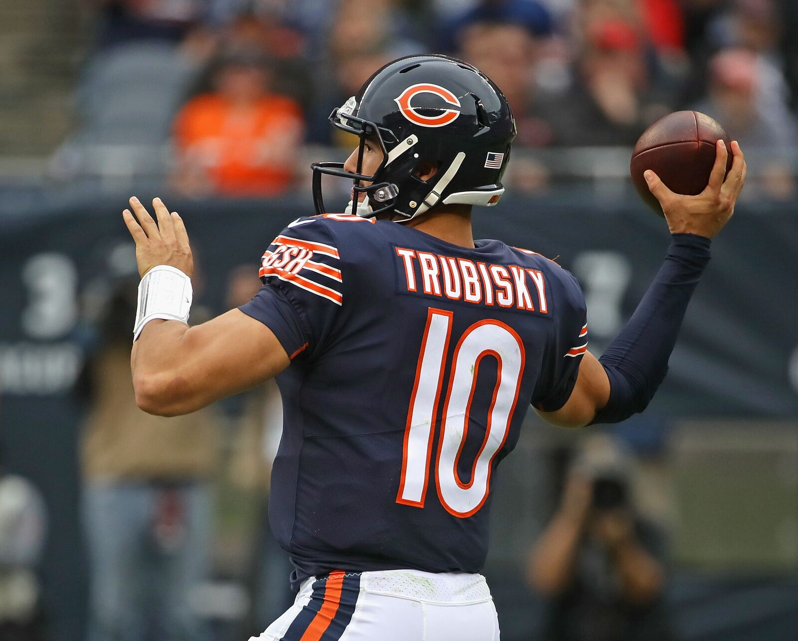 0a6f91f92d3 Stock Up/Down: Mitchell Trubisky leads Chicago Bears to 3-1