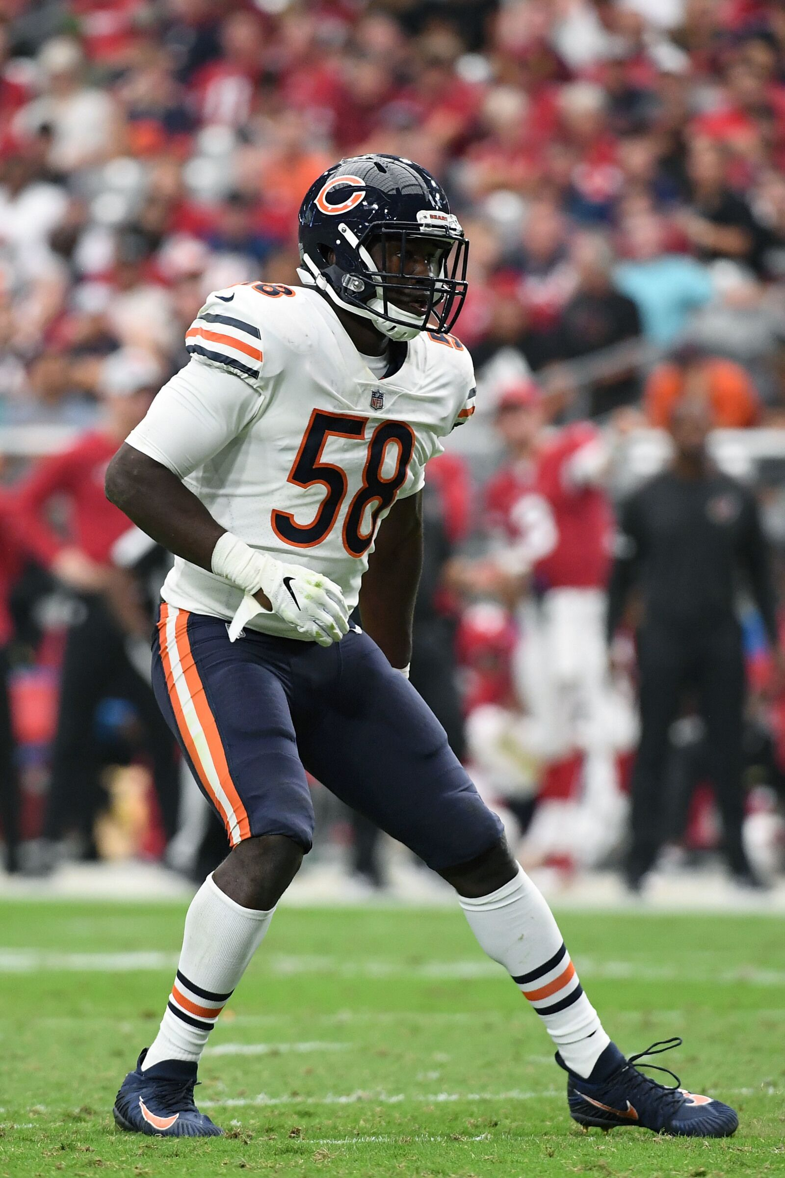 new product 329ea 56bc8 Chicago Bears Quarter Review: Roquan Smith