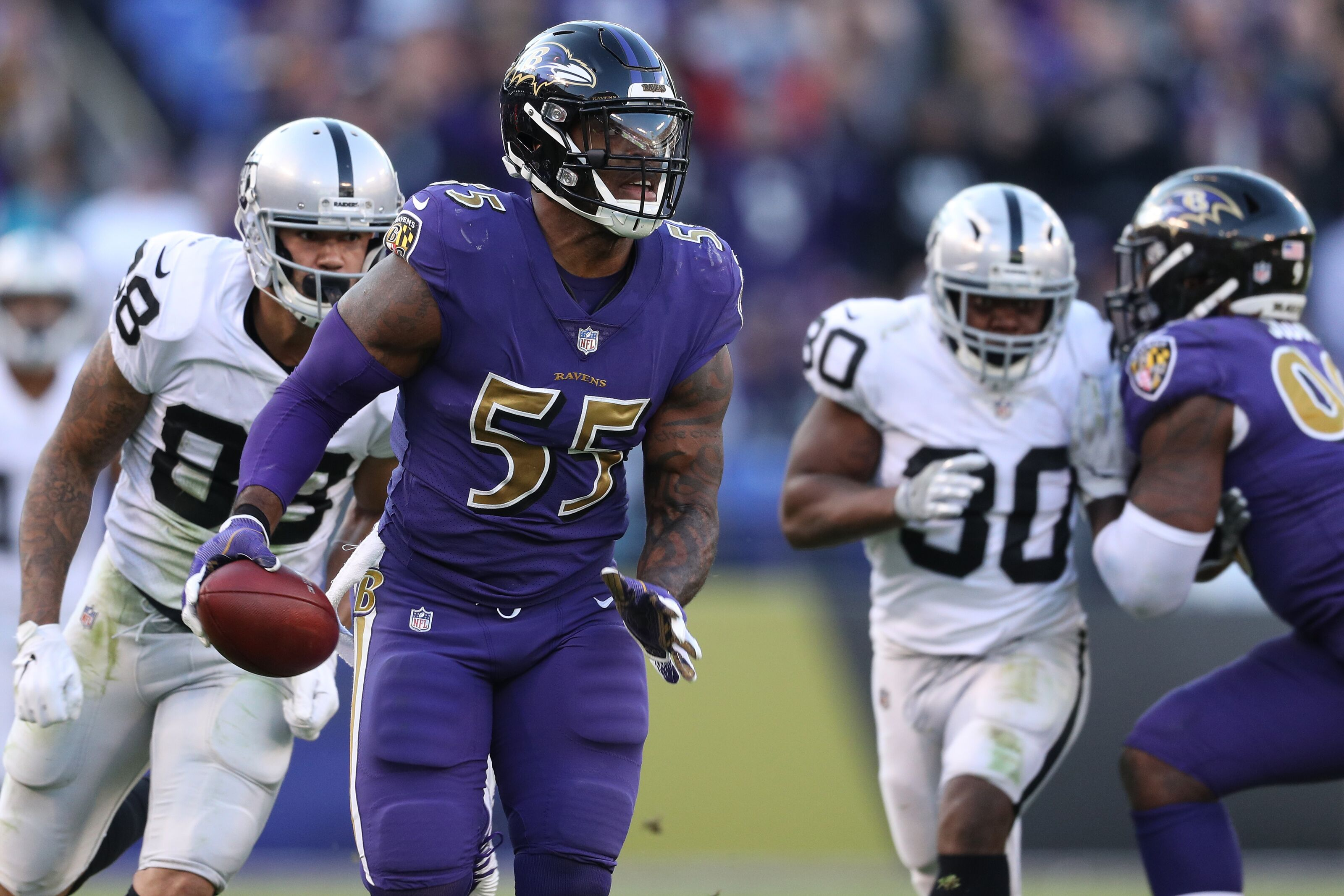 Terrell Suggs doesn t appear to be option for Chicago Bears 134ee6676