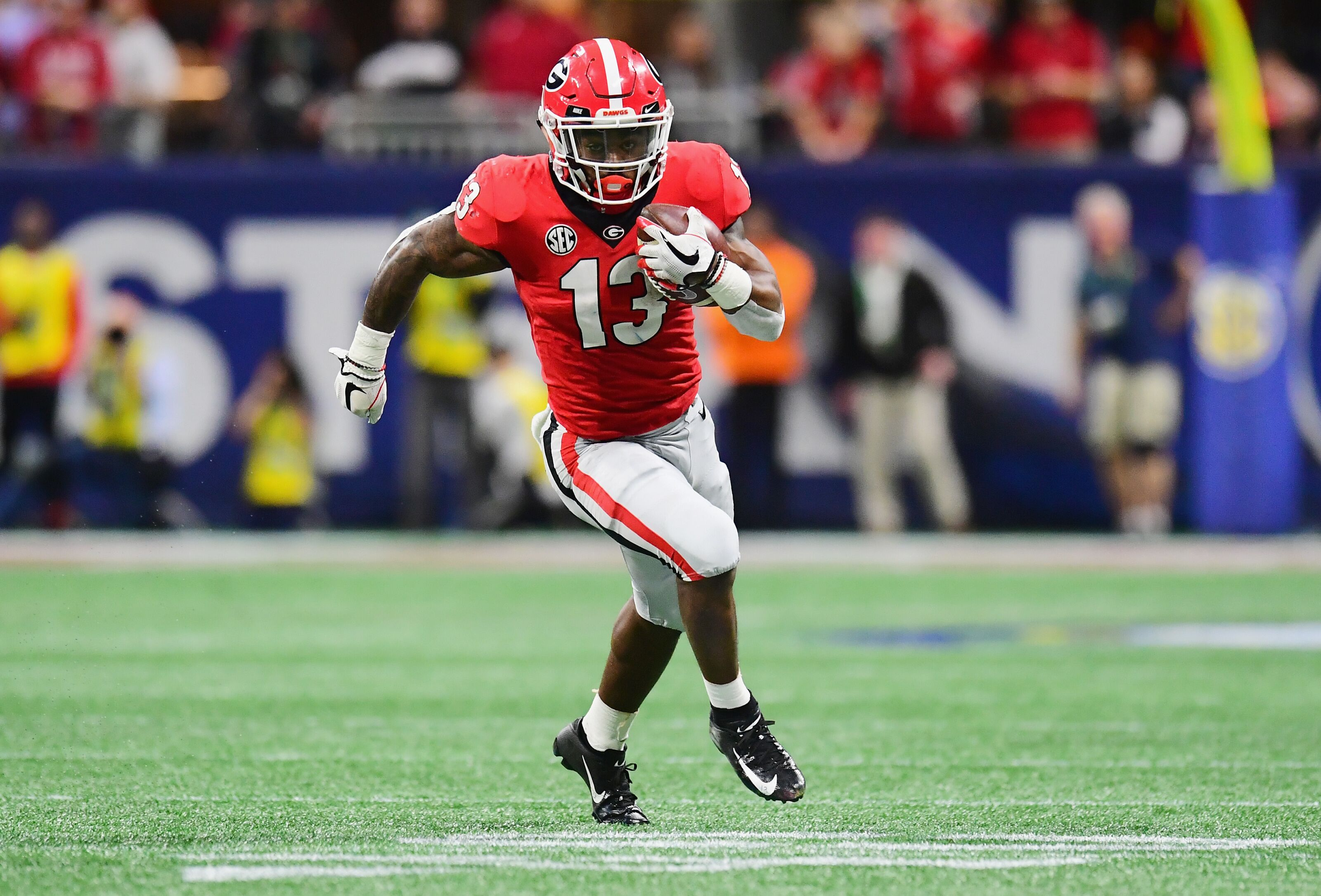 Chicago Bears Draft Scout  Elijah Holyfield 1578fe753