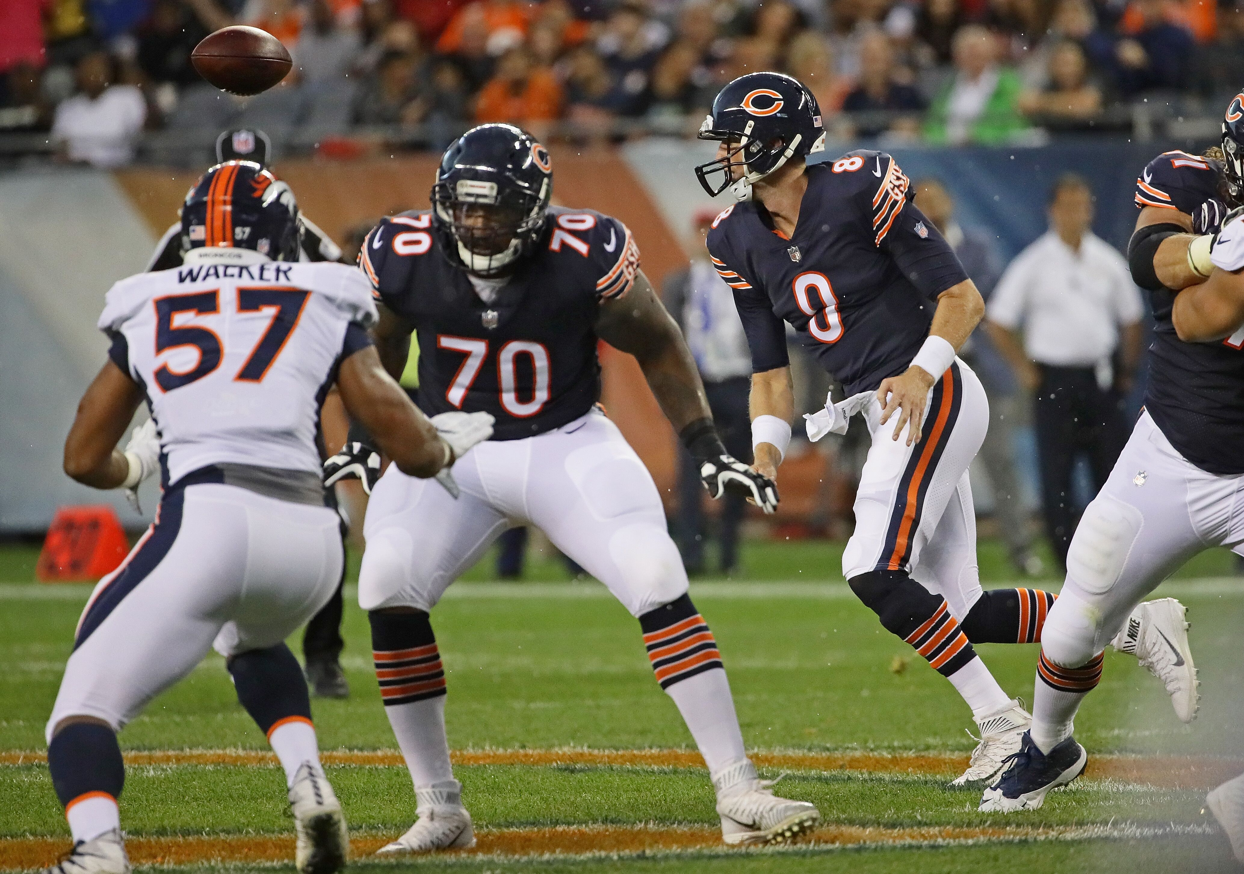 sports shoes e8442 b3023 Chicago Bears Free Agent Review 2017: Mike Glennon. The ...