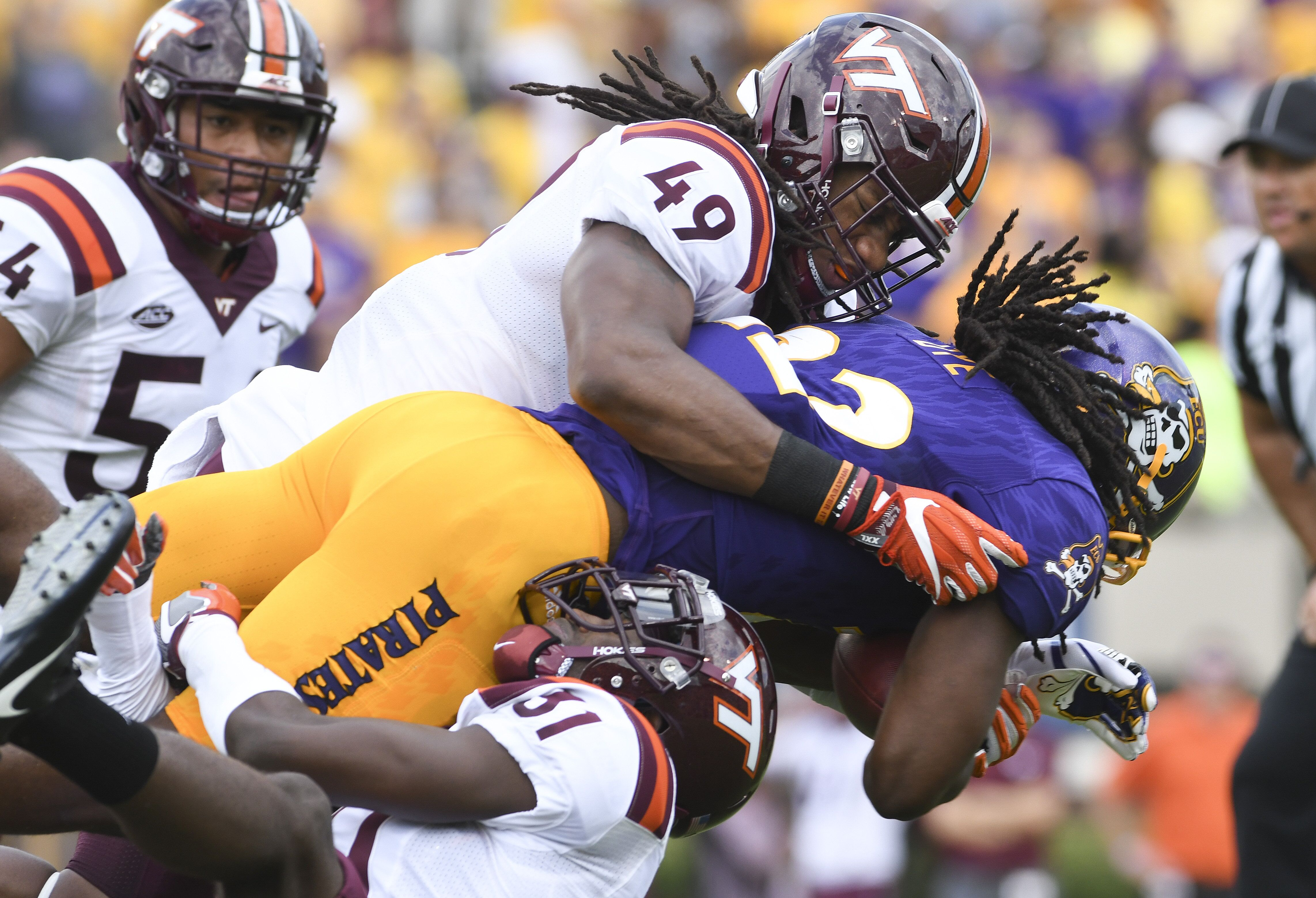 Chicago Bears  The Case for VT LB Tremaine Edmunds with 8th pick 7aefe2abe
