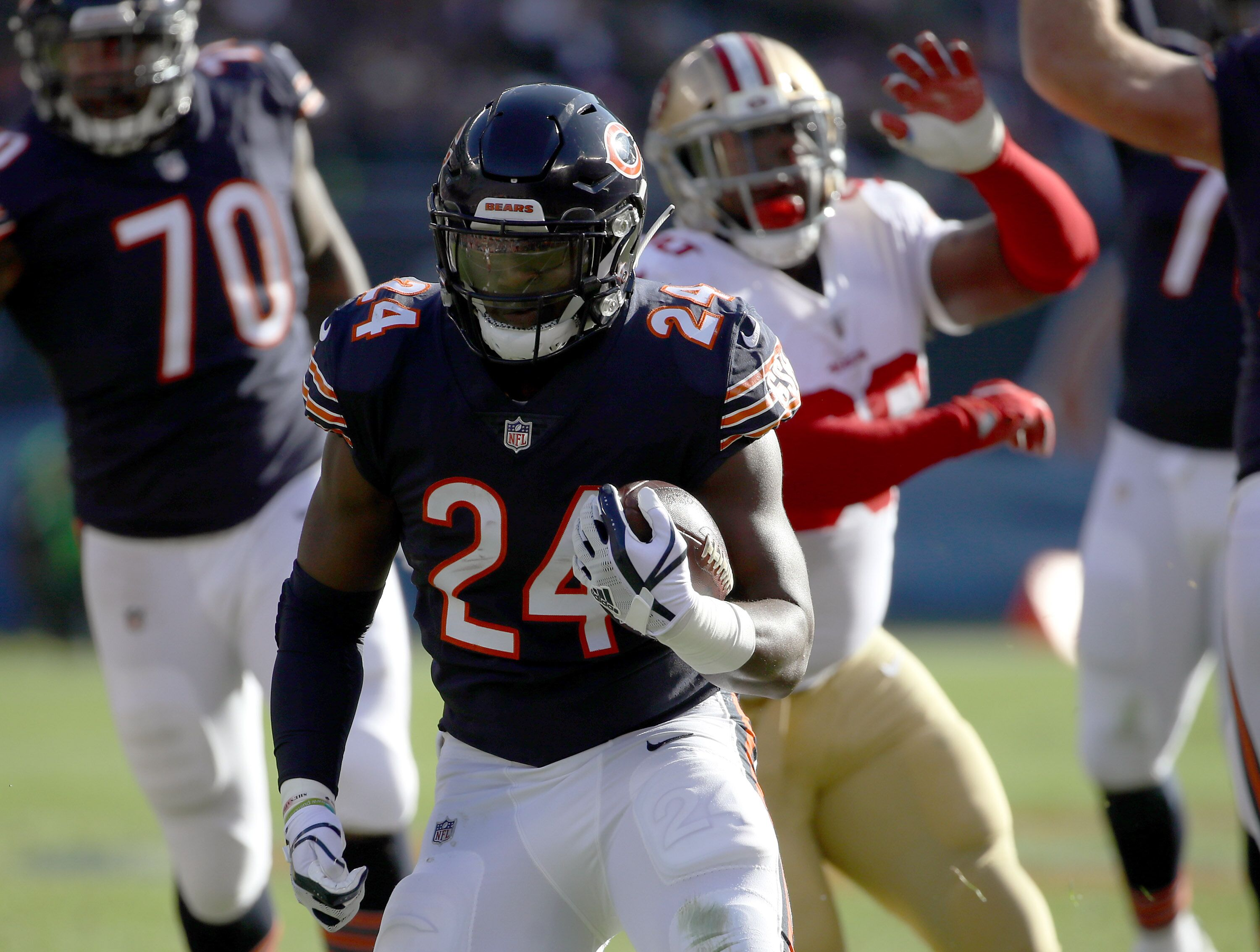 13d772a85 Chicago Bears Training Camp Rumblings  Running Back