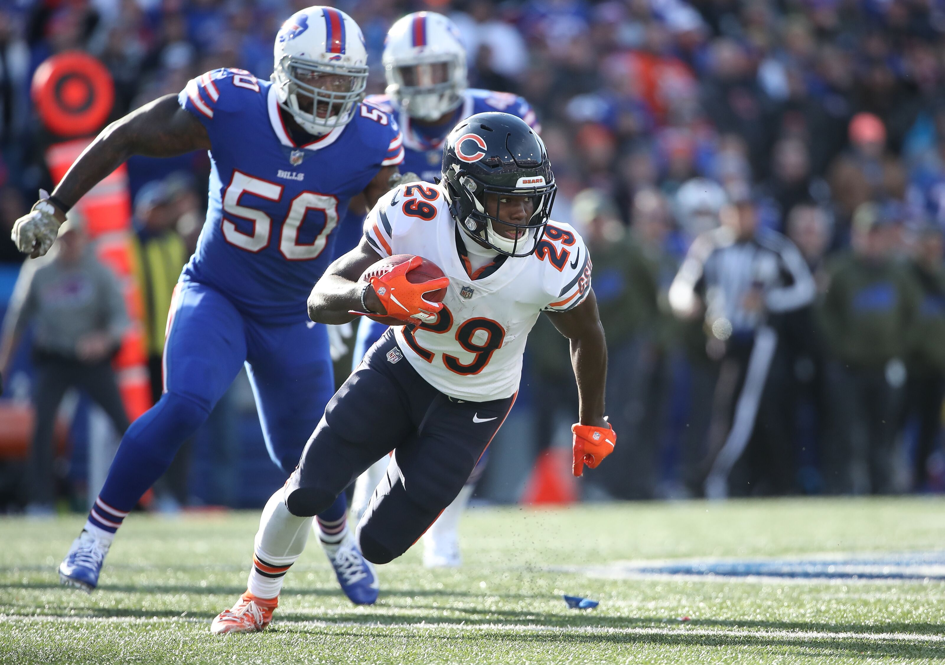 Chicago Bears: Tarik Cohen can beat Minnesota Vikings