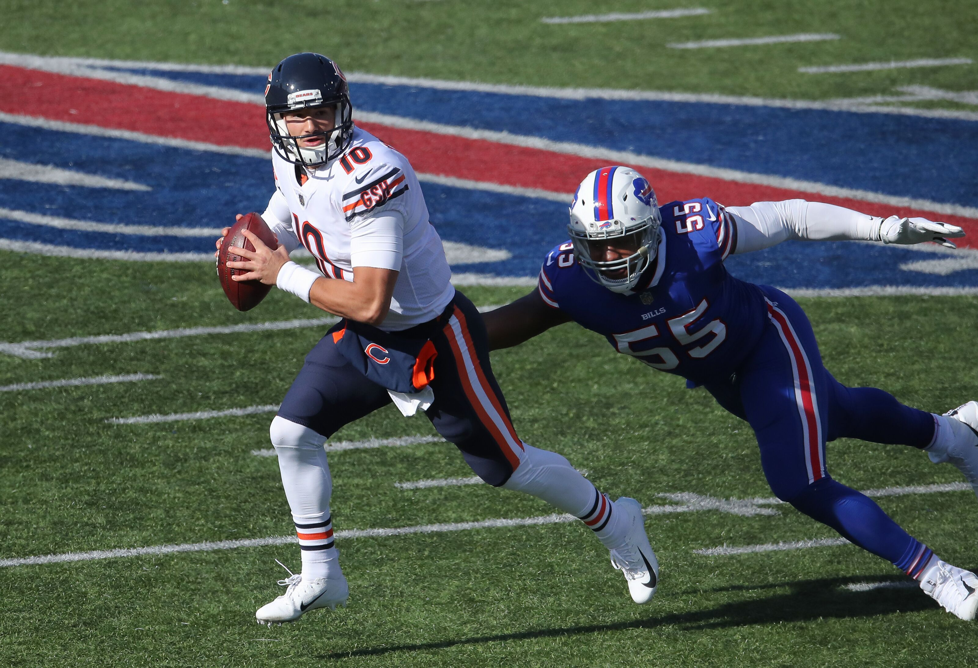 Chicago Bears: Can Mitch Trubisky explode on Vikings defense?