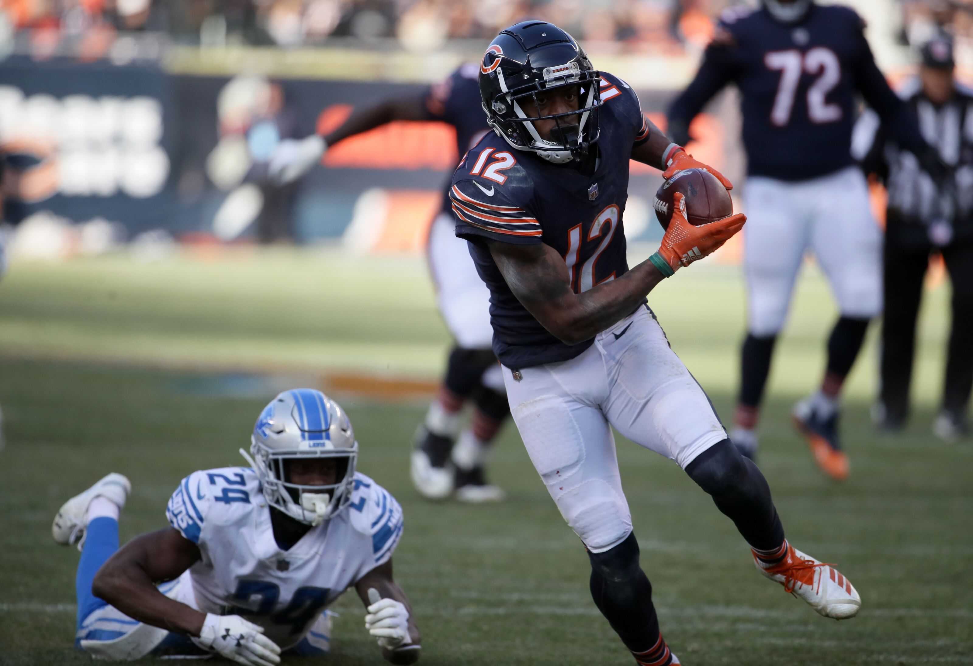 Chicago Bears Allen Robinson Advanced Stats Review