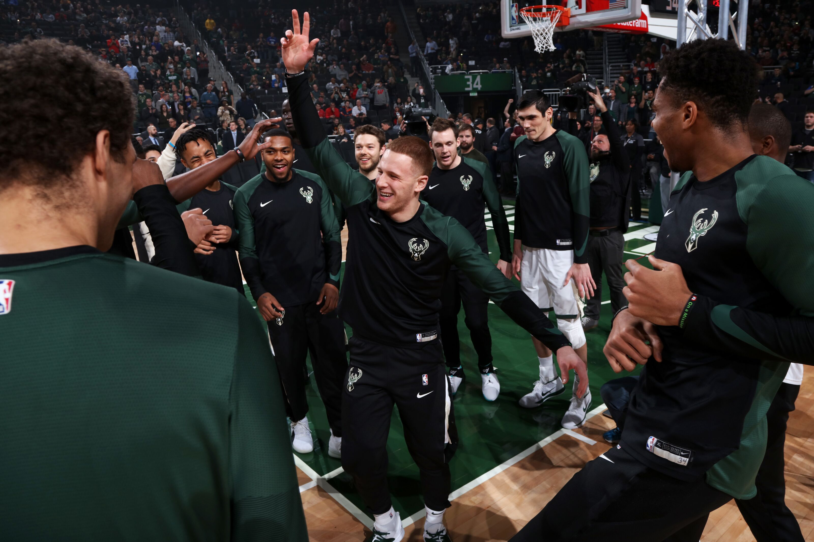 Milwaukee Bucks: Donte DiVincenzo faces uphill climb for playing time